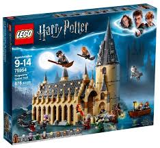 <b>Конструктор LEGO Harry</b> Potter 75954 Большой зал Хогвартса ...