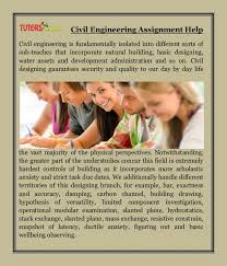 civil engineering assignment help jpg cb  civil engineering assignment help civil engineering is fundamentally isolated into different sorts of sub teaches