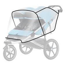 <b>Дождевик</b> к коляскам для двойни <b>THULE URBAN GLIDE</b> 2. Купить ...
