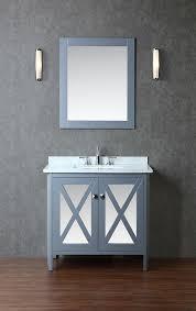 ariel by seacliff summit 36 single sink bathroom vanity set