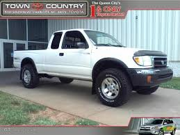 1999 Natural White Toyota Tacoma TRD Extended Cab 4x4 #31644213 ...