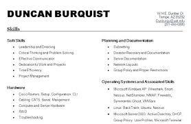 Skills To Put On A Job Resume Thrifdecorblog Com