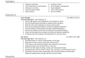Hair Stylist Resume Example Sample Trimming Cutting Beards Hair ...