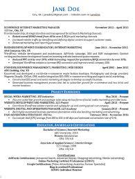 online marketing resume sample online marketing resume sample