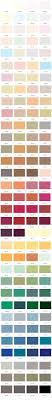 Armstead Paint Colour Chart Colour Charts