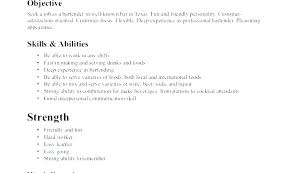 examples of server resumes server resume skills examples server skills resume sample restaurant