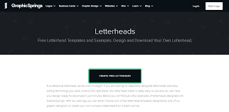 Professional Company Letterhead 5 Software To Create Professional Looking Letterheads In 2019