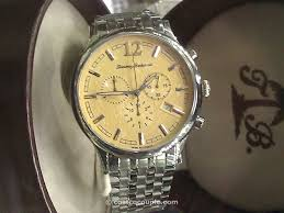 tommy bahama men s chronograph stainless steel watch tommy bahama mens chronograph stainless steel watch costco 1