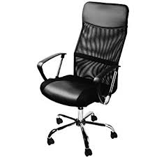 desk chairs uk. Modren Chairs Deuba Office Chair Black Mesh  High Back Desk Executive 360  Swivel Seat In Chairs Uk H