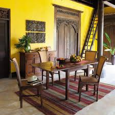 Teak Living Room Furniture Dining Room Extraordinary Wall Art Above Oak Cabinet In Spacious