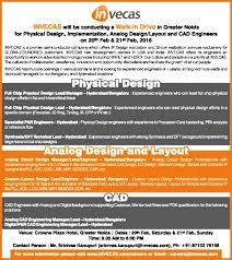 Cad Design Jobs In Hyderabad Analog Circuit Design Engineer Job In Hyderabad Bengaluru