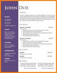 free cv template download with photo free resume template download doc linkv net