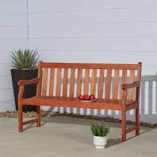 vifah outdoor benches patio chairs