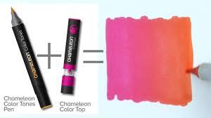 Chameleon Pens One Pen Blends Multiple Color Tones By Chameleon Art