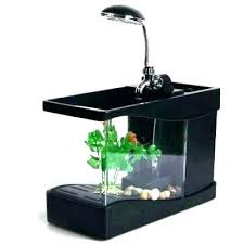 office desk aquarium. fish tank office cubicle stylish 3 in 1 mini crystal aquarium . desk :