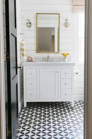 Patterned Floor Tiles Bathroom Bathroom Design Black White Mosaic Tile Black And White