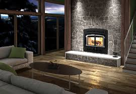 he200 ventis wood fireplace with double retractable doors blower included olympia chimney
