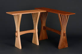 hall table furniture. Hall Table And Console In Bent, Solid Wood Hand Crafted By Seth Rolland Fine Woodworking Furniture H