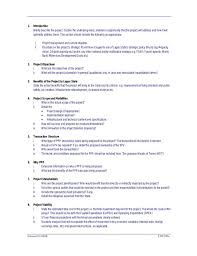 Project Proposal Apa Format Project Proposal Format Template Business