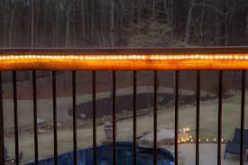 outdoor deck lighting ideas. Outdoor Rope Light Ideas Are Great For Your Deck! Deck Lighting