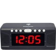 Magnavox Dual Alarm Clock Radio w/ Wireless Phone Charging - Page 1   QVC.com