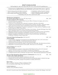 Valuable Administrative Assistant Cv Format Office Assistant Resume