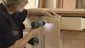 build a simple jig to drill cabinet handle holes perfectly fine homebuilding