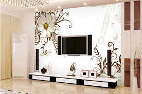 Small Picture 3d Wallpaper Designs For Living Room India Nakicphotography