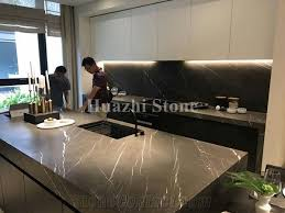 Natural stone kitchen countertops Manufactured Quartz Natural Stone Pietra Grey Marble Kitchen Countertops Zsolt Granite Natural Stone Pietra Grey Marble Kitchen Countertops From China
