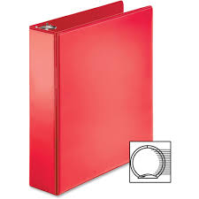 2in Binder Business Source Bsn09968 2 In Ring Binder Red