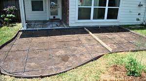 Build A Concrete Patio Decorative Concrete Patios And Patio Extensions Youtube