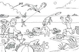 Free Printable Summer Coloring Pages For Adults Activities Fun Col