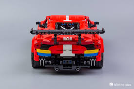 Great prices on building kits & sets. Lego Technic 42125 Ferrari 488 Gte Af Corse 51 Review The Brothers Brick The Brothers Brick