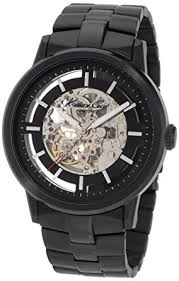 kenneth cole men s black ion plated stainless steel bracelet watch kenneth cole men s black ion plated stainless steel bracelet watch kc3981
