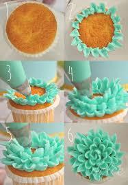 Flower Buttercream Cupcakes Tutorial Cake Flower Cupcake Cake