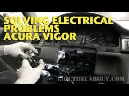 solving electrical problems acura vigor ericthecarguy solving electrical problems acura vigor ericthecarguy