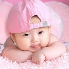 cute baby pictures for postcard design