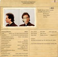 Criminal Record Template Exclusive Criminal Records For The Cast Of Seinfeld Pics