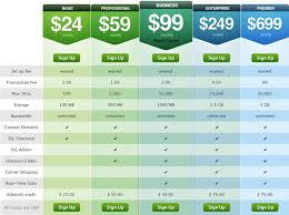 web table design. Wonderful Web Shopify Web Design  Pricing Tables Inside Table E