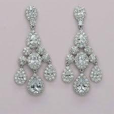 cubic zirconia chandelier earrings cubic zirconia chandelier bridal earrings cubic zirconia bridal chandelier earrings