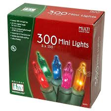 Amazon.com: Holiday Wonderland's 300-Count Mini Multi Color ...