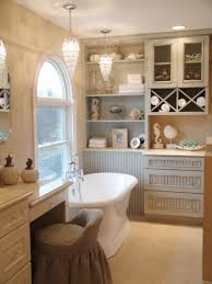 country themed reclaimed wood bathroom storage: beach and nautical themed bathrooms dp anissa swanzy cottage freestanding bathtub sxjpgrendhgtvcom