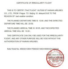 Sample Doctors Note For Travel Cancellation What If Airlines Claim Extraordinary Circumstances Claimair