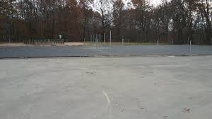 Pickleball Courts Laid Asphalt Added 2 Courts For A Total