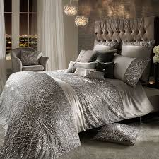 kylie minogue esta silver bedding luxurious duvet covers pillowcases official