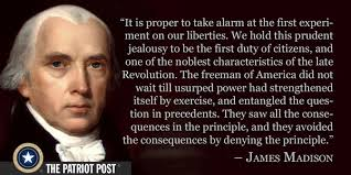 James Madison Quotes New Quote James Madison The Patriot Post
