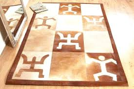 cow leather rug patchwork leather cowhide rug 2 rugs leather rugby ball door stop leather rugby cow leather rug