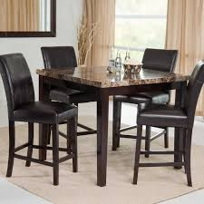 tall round dining table and ideas with fabulous high top kitchen chairs costco stools room sets julian place chocolate pc counter
