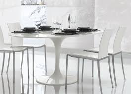 alivar saarinen tulip round dining table