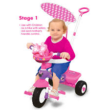 Huffy Disney Minnie Mouse Lights And Sounds Folding Trike Disney Minnie Deluxe Trike With Lights Sounds Walmart Com